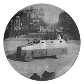 第27 1917年3月:  装甲車両の艦隊 プレート