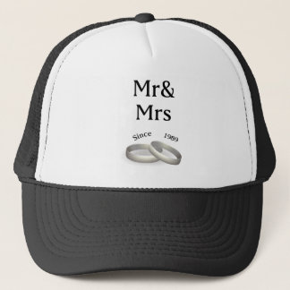 第28記念日の一致の氏。 そして夫人。 1989年以来 キャップ