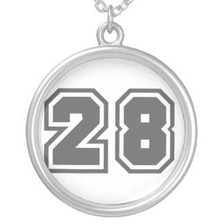 第28 シルバープレートネックレス
