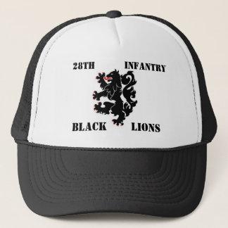 第28 Inf. 黒いライオンの帽子 キャップ
