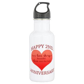 第2。 記念日 ウォーターボトル