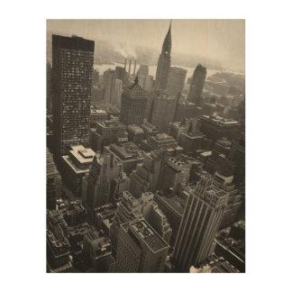 第2 1961年5月:  ニューヨークのクライスラの建物 ウッドウォールアート