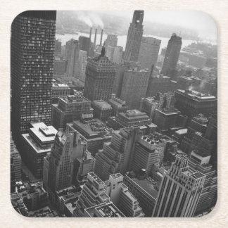 第2 1961年5月:  ニューヨークのクライスラの建物 スクエアペーパーコースター