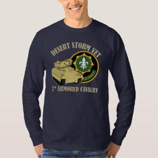 第2 ACRの獣医-湾岸戦争ブラッドリー Tシャツ