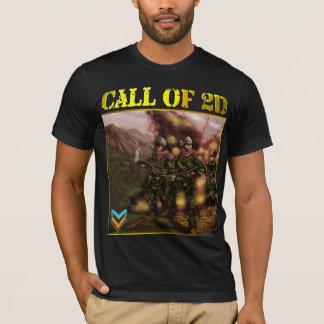 第2 Tシャツの呼出し Tシャツ