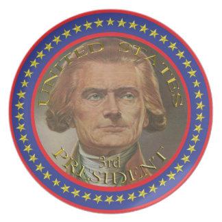 第3プレート米国大統領 プレート