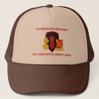 第3兵器の大隊(EOD)の帽子 キャップ