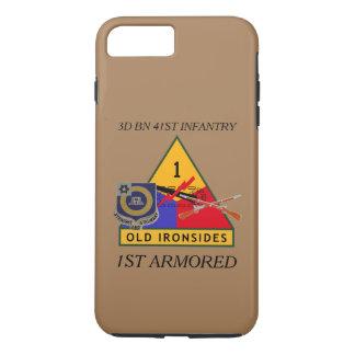 第3大隊第41の歩兵の第1装甲例 iPhone 8 PLUS/7 PLUSケース