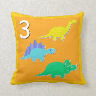 第3恐竜の第1 - 10計算 クッション