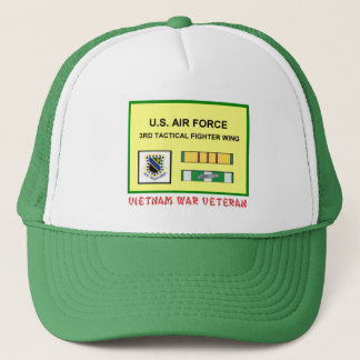 第3戦術的な戦闘機翼のベトナム戦争の獣医 キャップ