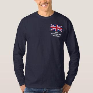 第3機械化された分割-イギリスの長袖のティー Tシャツ