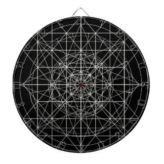 第3次元か水晶寺院の神聖な幾何学 ダーツボード