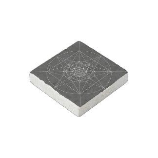 第3次元の神聖な幾何学 ストーンマグネット