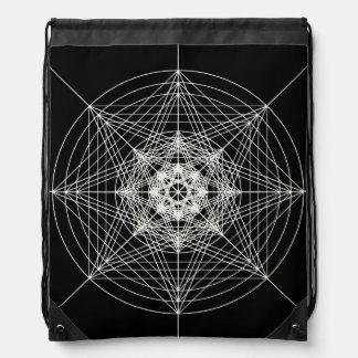 第3次元の神聖な幾何学 ナップサック