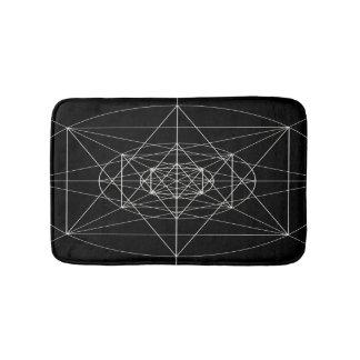 第3次元の神聖な幾何学 バスマット
