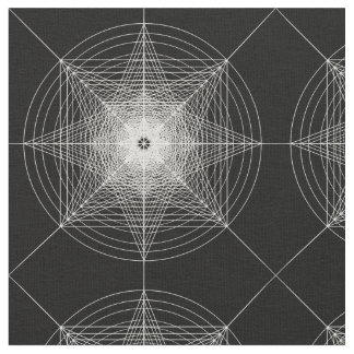 第3次元の神聖な幾何学 ファブリック