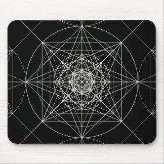 第3次元の神聖な幾何学 マウスパッド
