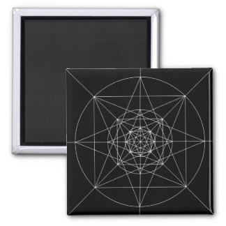 第3次元の神聖な幾何学 マグネット