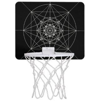 第3次元の神聖な幾何学 ミニバスケットボールネット