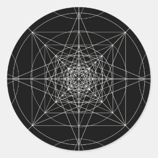 第3次元の神聖な幾何学 ラウンドシール