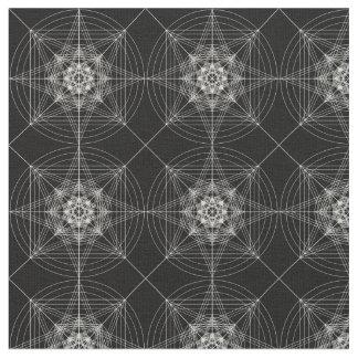 第3次元の神聖な幾何学(三倍になる) ファブリック