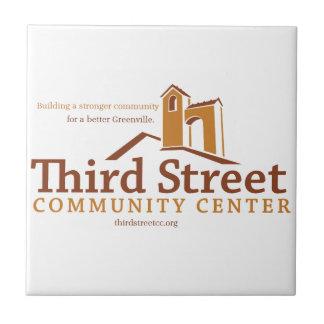 第3通りのコミュニティー・センターの視野 タイル