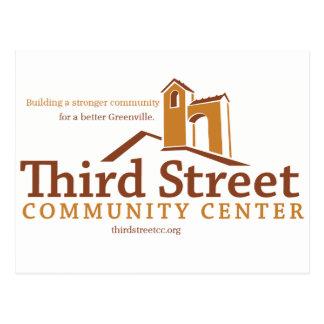第3通りのコミュニティー・センターの視野 ポストカード