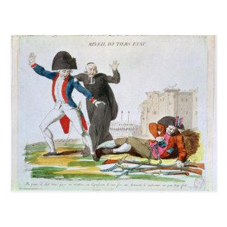 第3階級、1789年7月の覚醒 ポストカード