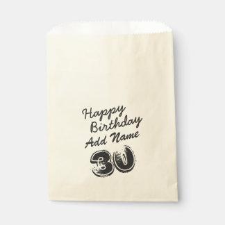 第30名前入りな誕生日 フェイバーバッグ