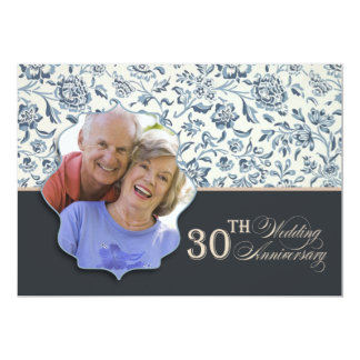第30結婚記念日の写真 カード