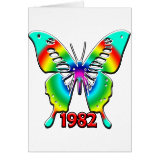 第30誕生日プレゼント1982年 カード