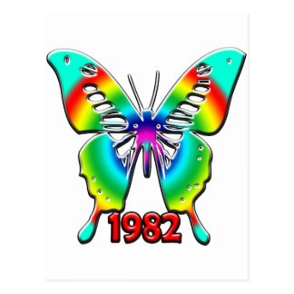 第30誕生日プレゼント1982年 ポストカード