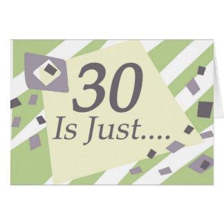 第30誕生日 カード