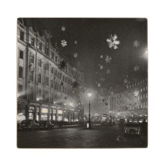 第30 1955年11月: クリスマスの装飾 ウッドコースター