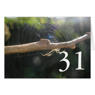 第31誕生日 カード