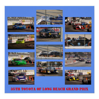 第35ロングビーチグランプリのトヨタ ポスター