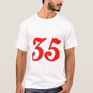 第35第35誕生日プレゼント Tシャツ