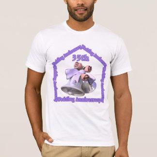 第35結婚記念日のギフト Tシャツ