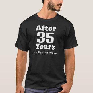 第35記念日(おもしろいな) Tシャツ
