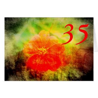 第35誕生日 カード