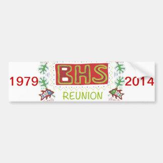第35 BHSの懇親会のバンパーステッカー バンパーステッカー