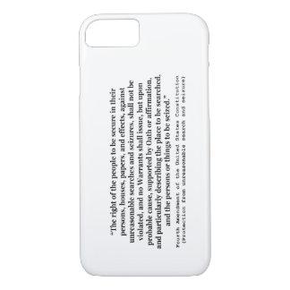 第4アメリカ合衆国憲法の修正 iPhone 8/7ケース