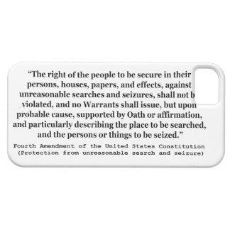 第4アメリカ合衆国憲法の修正 iPhone SE/5/5s ケース