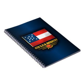 第4サウスカロライナの有志の歩兵 ノートブック