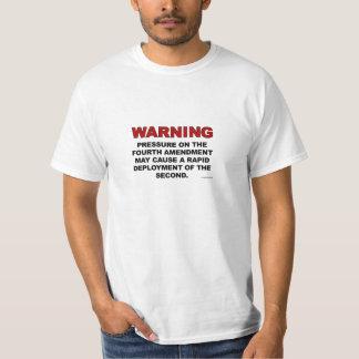 第4修正のTシャツ Tシャツ