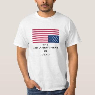 第4修正はdeadShirtです Tシャツ