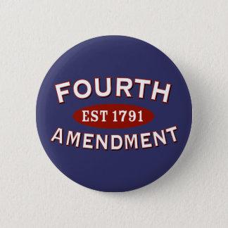 第4修正米国東部標準時刻1791年 5.7CM 丸型バッジ