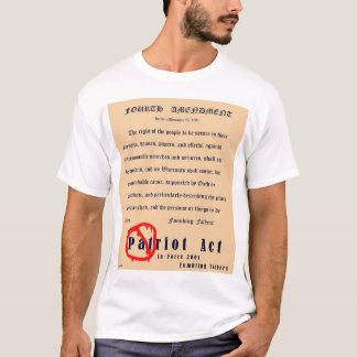 第4修正(前部) Tシャツ