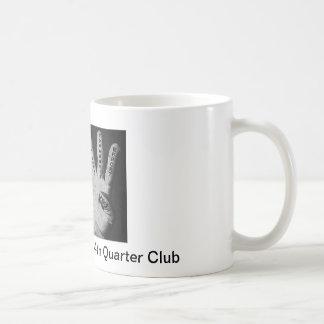 第4四分の一クラブコーヒー・マグ コーヒーマグカップ