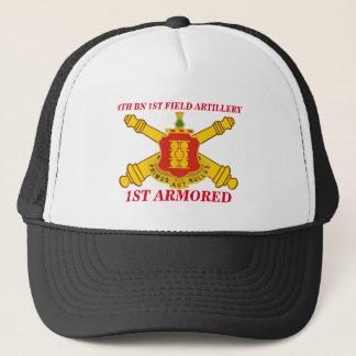 第4大隊の第1野戦砲兵の第1装甲帽子 キャップ